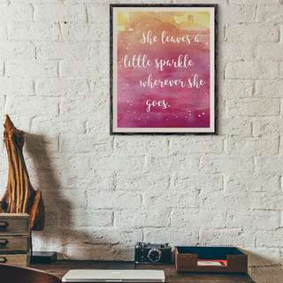 [somegoodwords] Art Print, Gift, Customised, Home Decor, Birthday gift, Wall display, Housewarming gift, Typography Art, Inspirational Quote, Bible Verse, Poster, Product Code 25