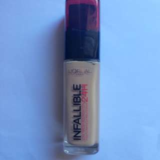Loreal Infallible 24hr Foundation