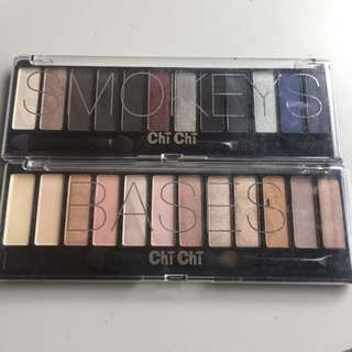 Chichi Eyeshadow Palette In Smokeys And Bases