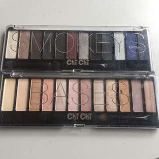 Chichi Eyeshadow Palette In Smokeys And Bases