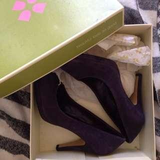 Purple Suede Shoes