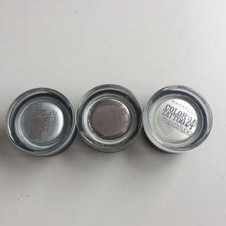 Maybelline Color tattoo Pots (each)
