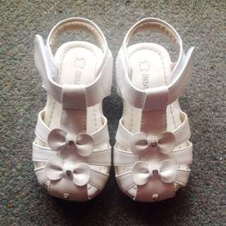 Toddler Girls Leather Sandals