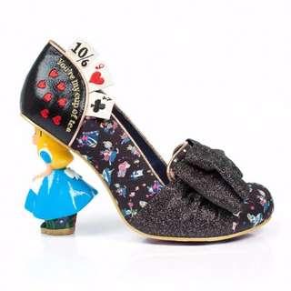Disney Alice in Wonderland 'Wonderland This Way' Irregular Choice Shoes