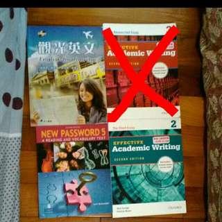 🚚 外語系書籍, Academic writing , 觀光英文 , New Password5