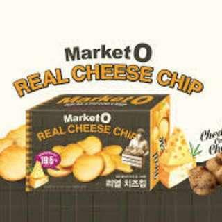 Market O 芝士脆片