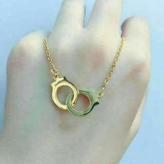 Small Handicuffs Necklace (Non Tarnish)