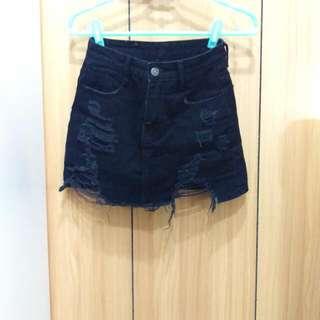 #降價#黑褲裙(S)