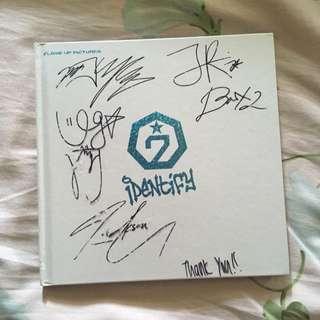 GOT7 Autographed Identify Album