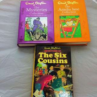 Grid Blyton's Collection Books