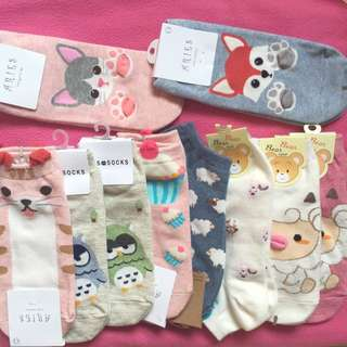 CUTE KOREAN SOCKS