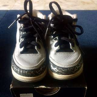 Nike Air Jordan 3 Wolf Grey US6C