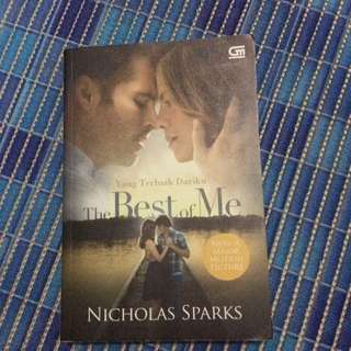 The Best Of Me Novel (Bahasa)