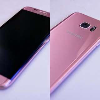Galaxy S7 EDGE PINK GOLD