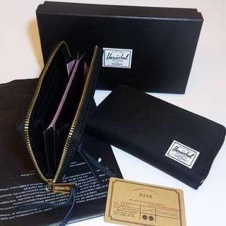 Herschel Long Black Wallet