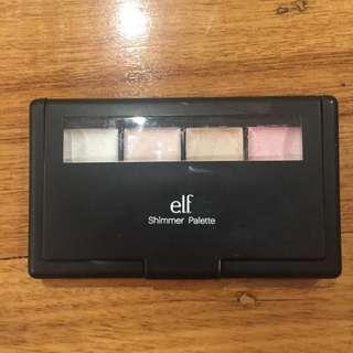 ELF Shimmer Highlight Palette Cream