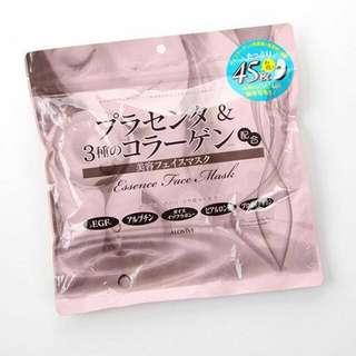 日本直送 Alovivi 胎盤提取物及3種骨膠原面膜 45片入
