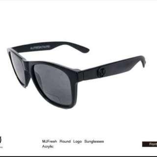保留全新-頑童 MJ FRESH Logo Sunglasses 太陽眼鏡 墨鏡 (黑金)
