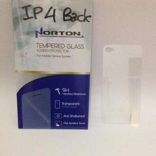 TEMPERED GLASS FOR IPHONE 4G BACK