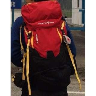 Country Hide 3019 Predator 65 Hiking Bag (Red)
