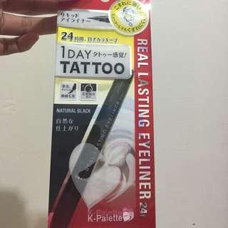 K-palette A Day Tattoo 眼線液筆 眼線液 眼線筆(自然黑)