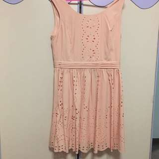 Lollyrouge Pink Eyelet Dress