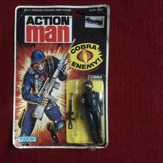 Cobra Enemy / Soldier - Action Figure (1983) v1.5