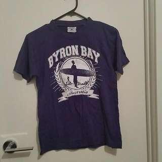 Purple Byron Bay Tee Size 14