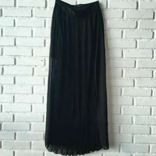 Reprice!!! Zara Long Skirt Pleated