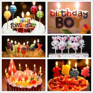 Happy Birthday Girl Candle (Party)