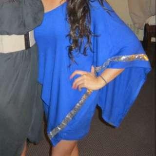 Beautiful Ocean Blue Dress