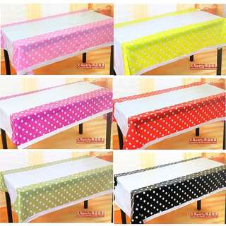 Buffet Disposable Plastic Table Cloth Cover (Party)