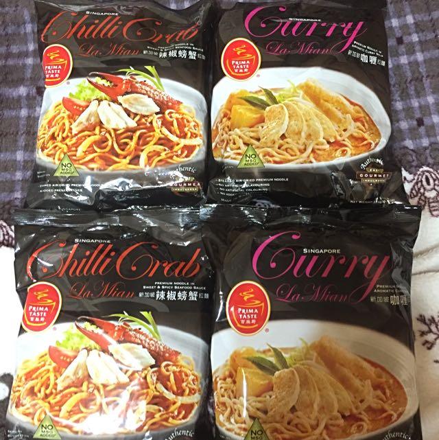 新加坡百勝廚拉麵(4包)