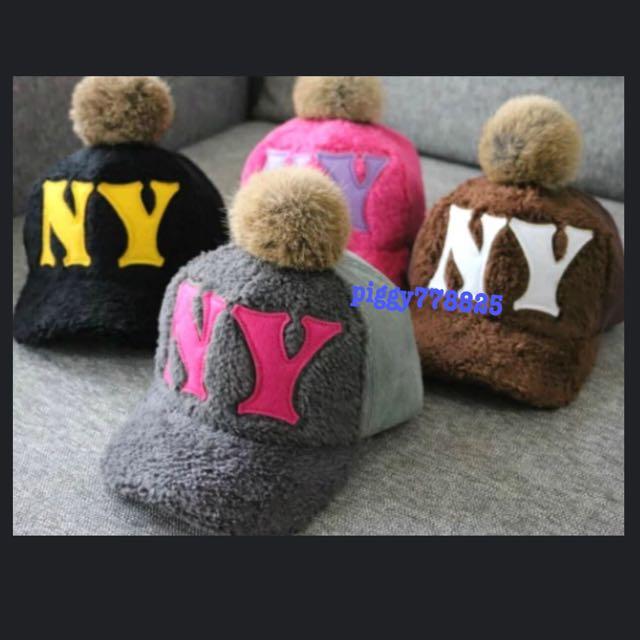 秋冬兒童加絨男女親子款鴨舌棒球帽🎩🎩