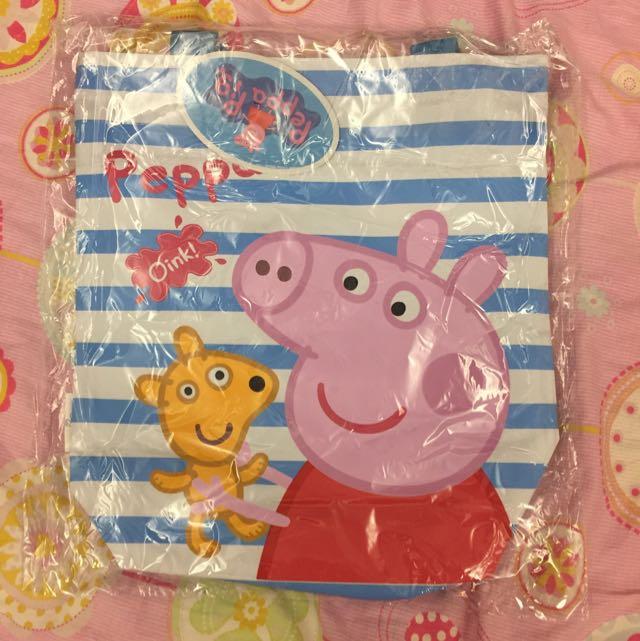 粉紅豬小妹購物袋