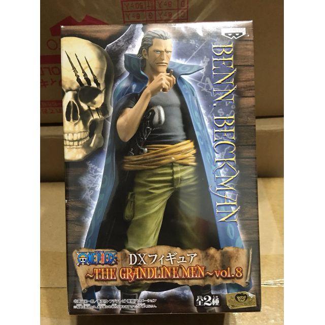 *海賊星*~海賊王 航海王 全新現貨 日版金證 景品 GrandlineMen DX Vol.8 貝克曼 紅髮海賊團 單售