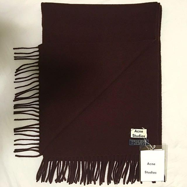 (已售出)ACNE STUDIOS Canada wool scarf 圍巾披肩