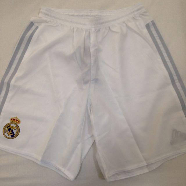 Adidas Brand New Real Madrid Football Shorts