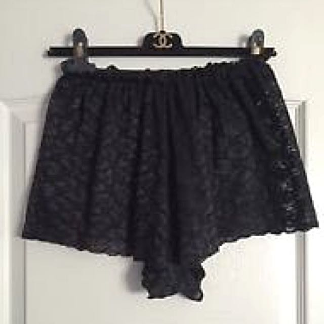 PENDING PAYMENT American Apparel Lace Hi-waisted Shorts