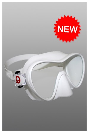 Aquamundo Dorado Silicon Mask (White or Black)