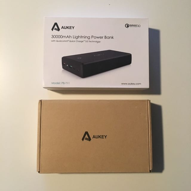 New: Aukey 30,000 mAh Power Bank