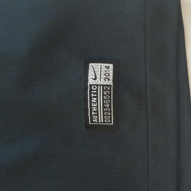 Aunthentic Nike Brazil Soccer Jersey