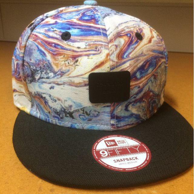 Authentic New Era Snapback watercolour