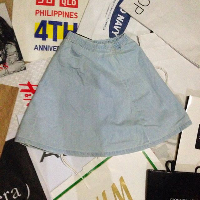 BEESHKA DENIM SKIRT