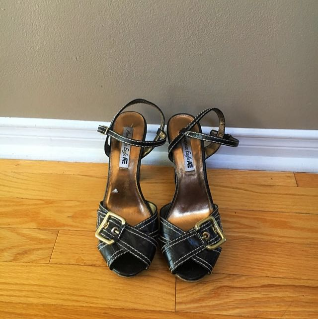 Brown Platform Sandals by American Eagle Size 9