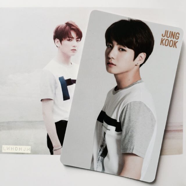 bts youth japanese jungkook photocard  album 1474891829 91f8b59d