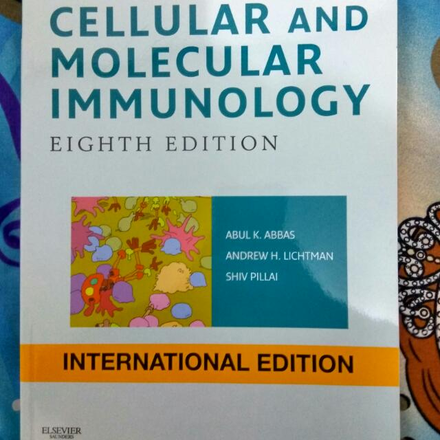 Buku Kedokteran ASLI Immunology Abbas Ed.8 (Bahasa Inggris)