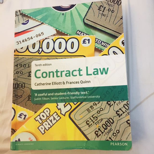 New Contract Law Text Book A-Levels