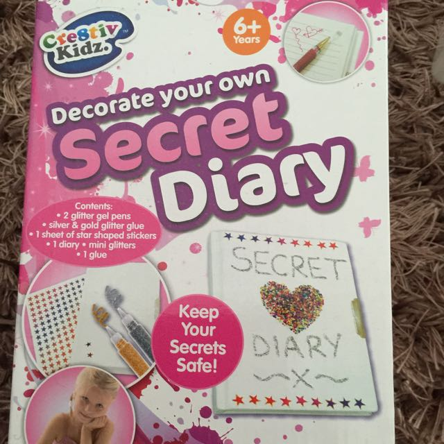 Decorate Your Own Secret Diary