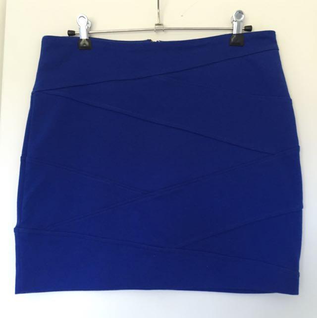 Dotti Bodycon Mini Skirt Size 12